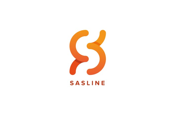 Cover Image For Sasline Logo S Letter Template