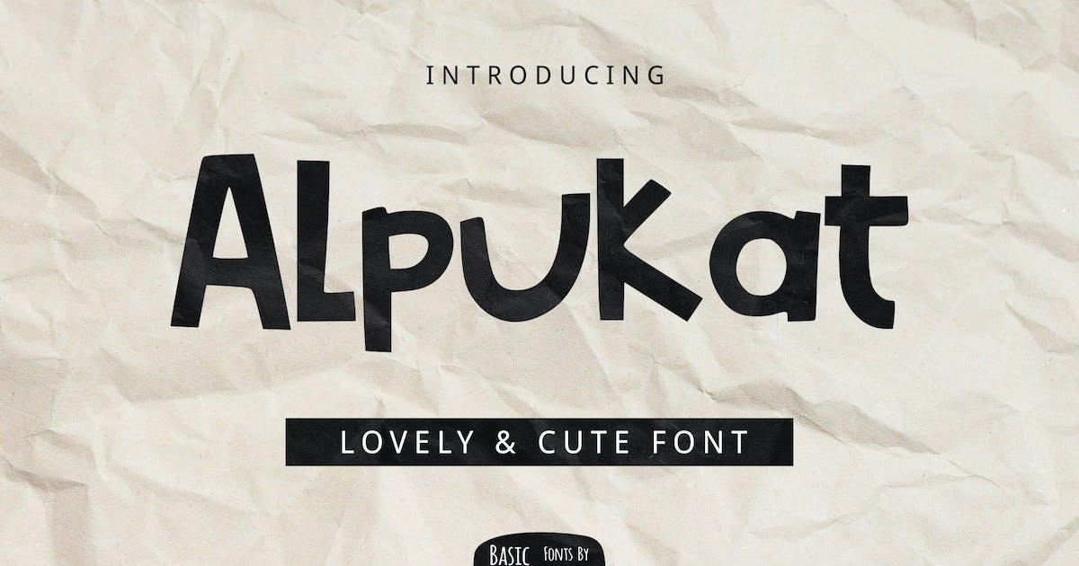 Download Alpukat Font by yandidesigns