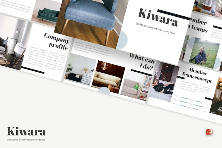 Cover Image For Kiwara - Powerpoint Template