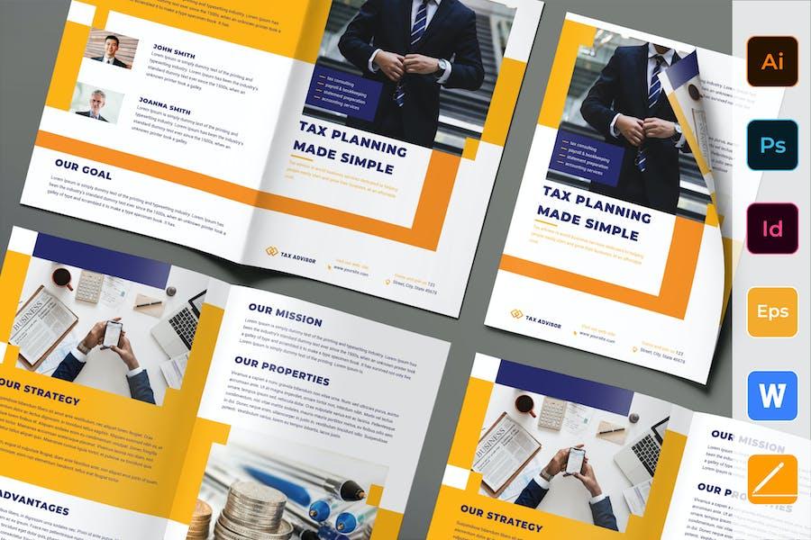 Tax Advisor Brochure Bifold
