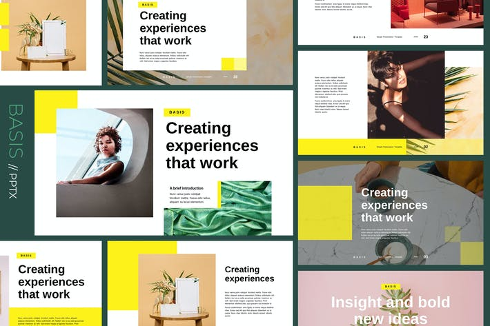 Cover Image For BASIS - Modern & Creative Powerpoint Template