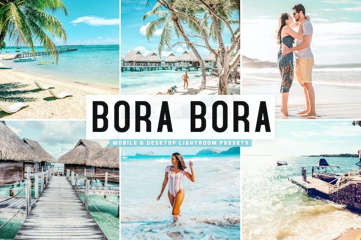 Thumbnail for Bora Bora Mobile & Desktop Lightroom Presets