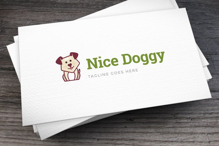 Thumbnail for Nice Doggy Logo Template