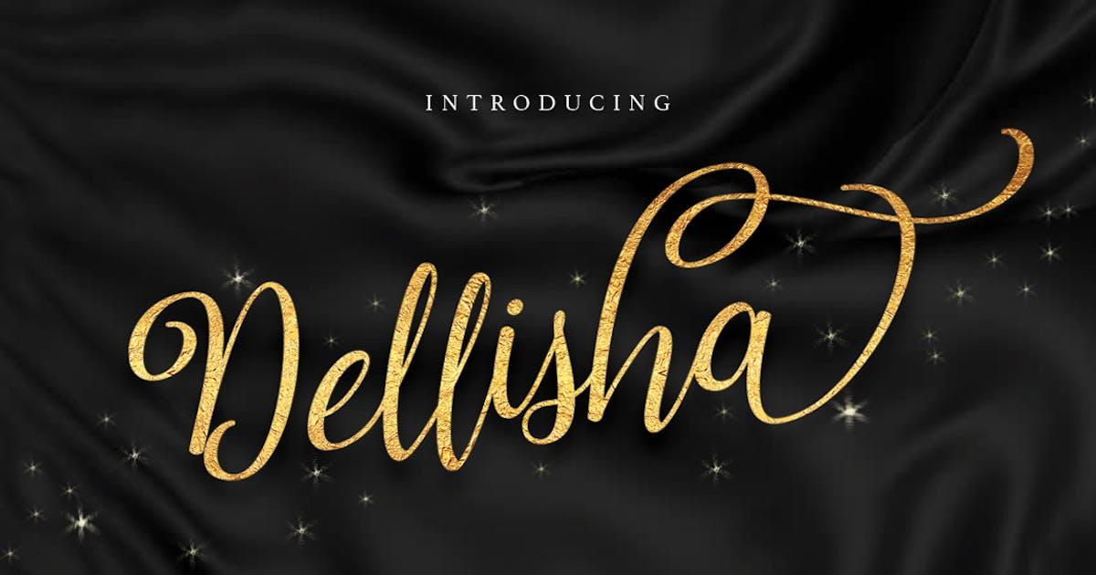 Download Dellisha Script by queentype