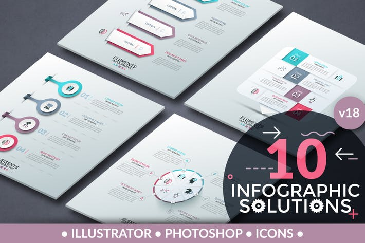 Thumbnail for Infographic Solutions. Part 18