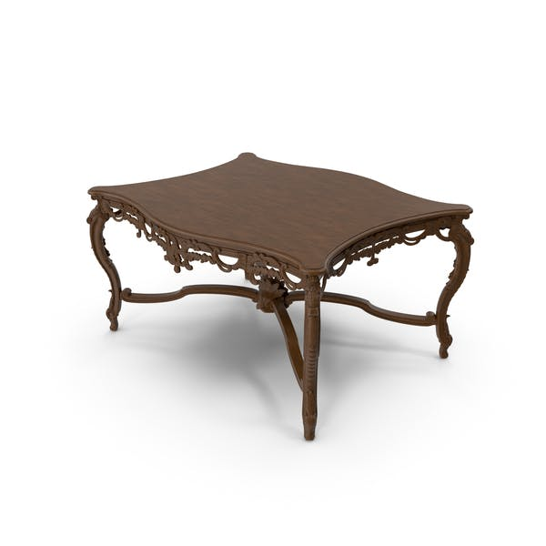 Baroque Carved Coffee Table