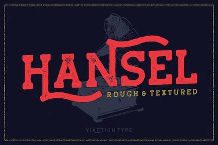 Hansel Vintage Font