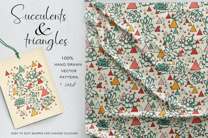 Thumbnail for Sukkulenten und Dreiecke