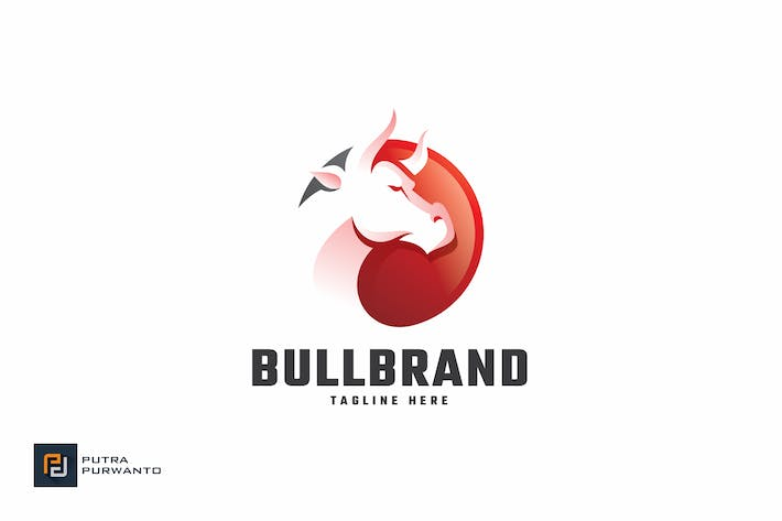 Thumbnail for Bull Brand - Logo Template