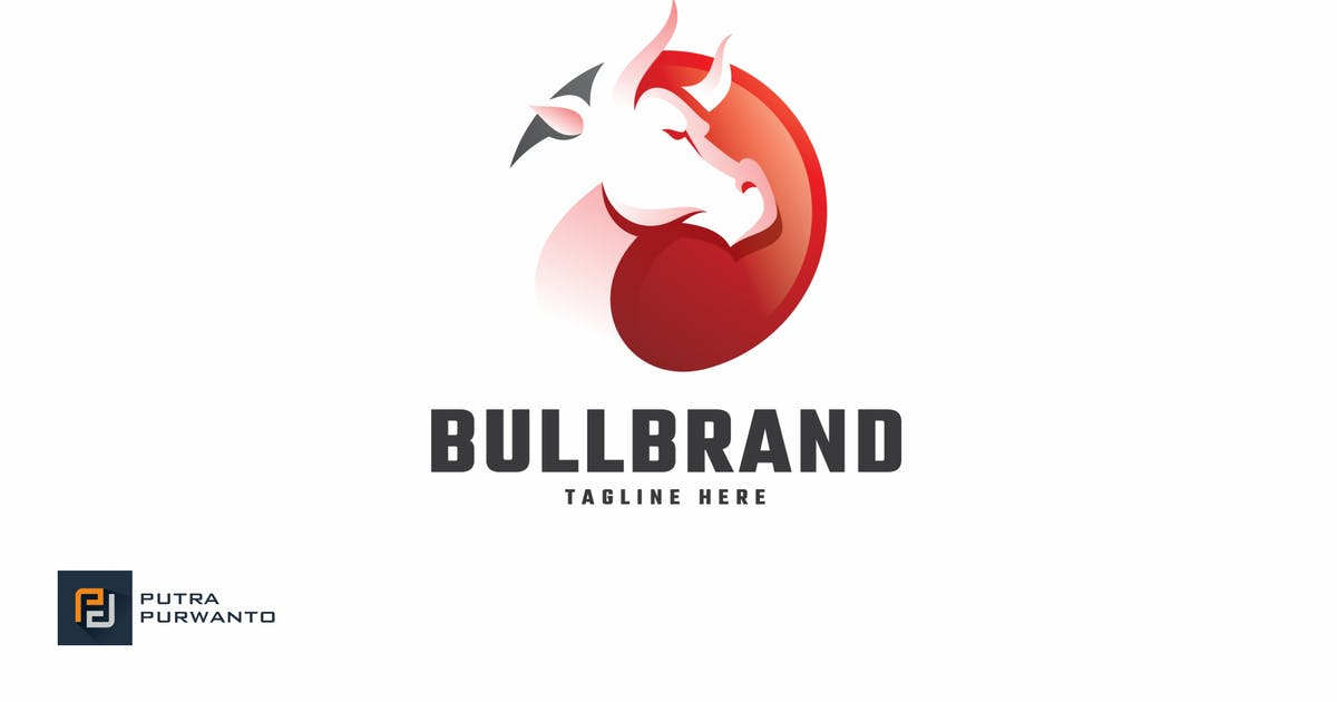 Download Bull Brand - Logo Template by putra_purwanto