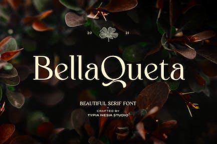 Bella Queta - Hermosa Con serifa clásica