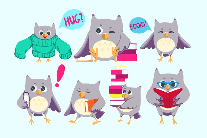 Thumbnail for Back To School Owls
