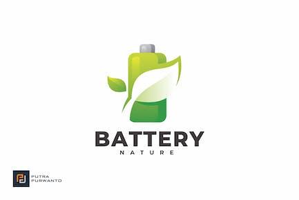 Battery Nature - Logo Template