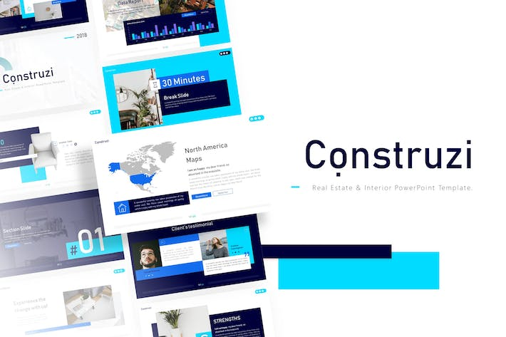 Thumbnail for Construzi - Construction Powerpoint Template