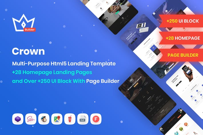 Crown | Multi-Purpose Html5 Landing Template