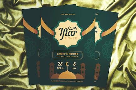 Iftar Invitation Flyer