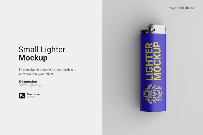 Small Lighter Mockup