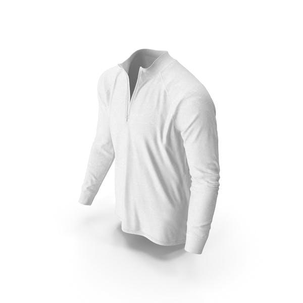 Mens Pullover White