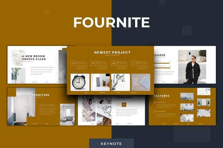 Thumbnail for Fournite - Keynote Template