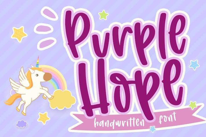 Thumbnail for Purple Hope