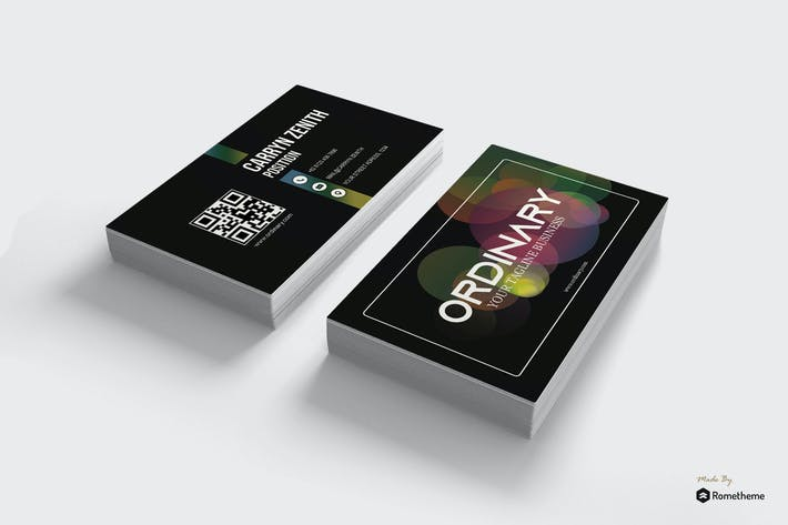 Cover Image For Business Card vol. 16