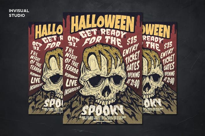 Spooky Halloween - Flyer Template