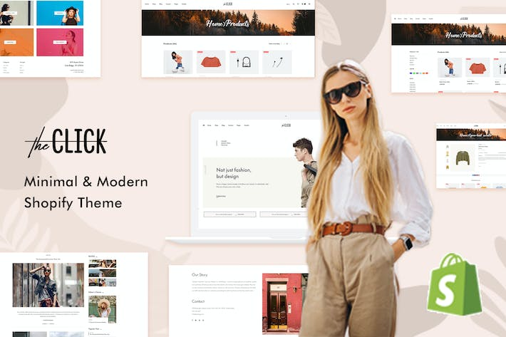 Thumbnail for TheClick - Tema Multiusos Shopify