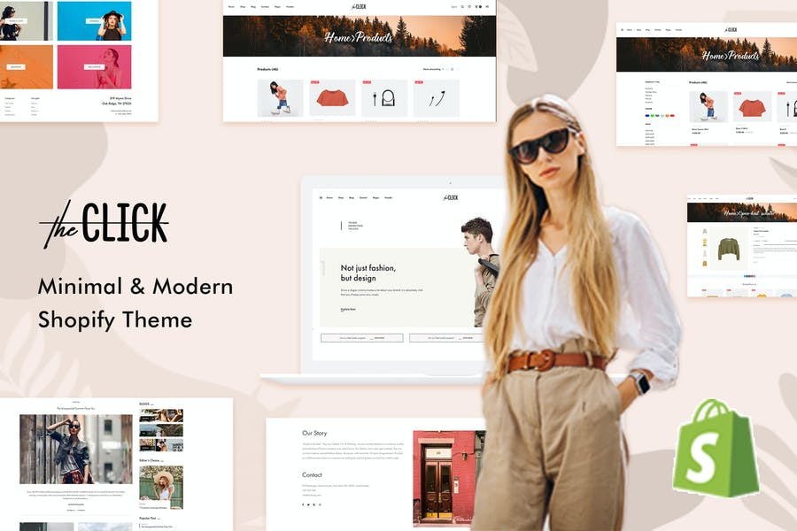 TheClick - Thème Shopify polyvalent