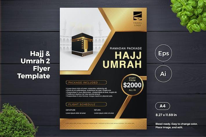 Thumbnail for Hajj and Umrah 2 Flyer Template (GI)