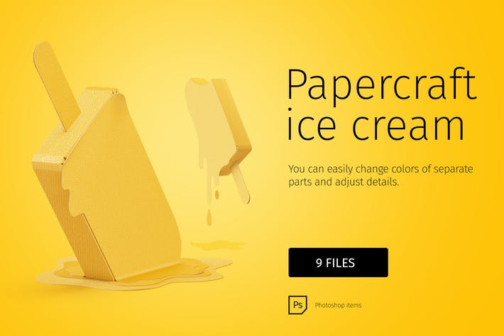 Thumbnail for Papercraft icecream DIY