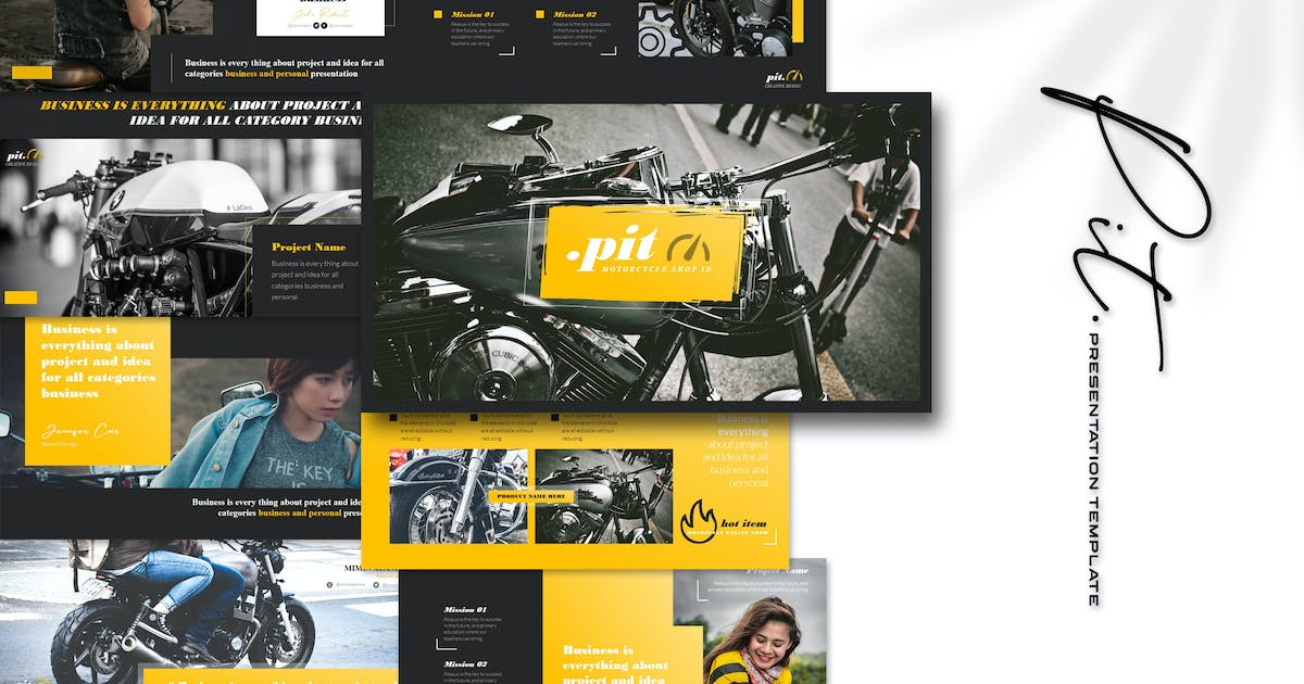 Download Pit - Keynote Template by Artmonk