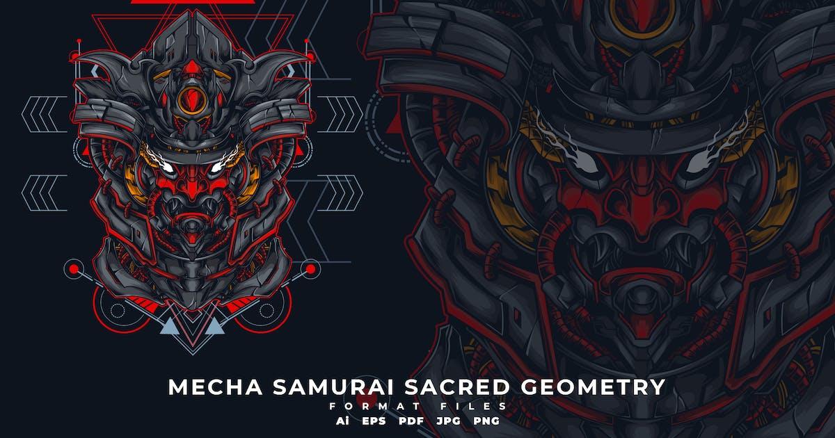 Download MECHA SAMURAI SACRED GEOMETRY by SecondSyndicate
