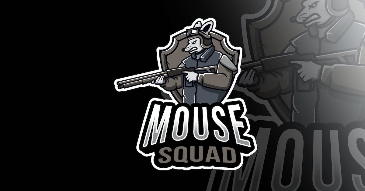 Download Mouse Squad Esport Logo Template by IanMikraz