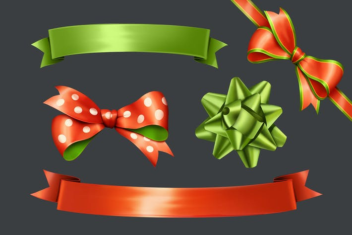 Cover Image For Gift Ribbons