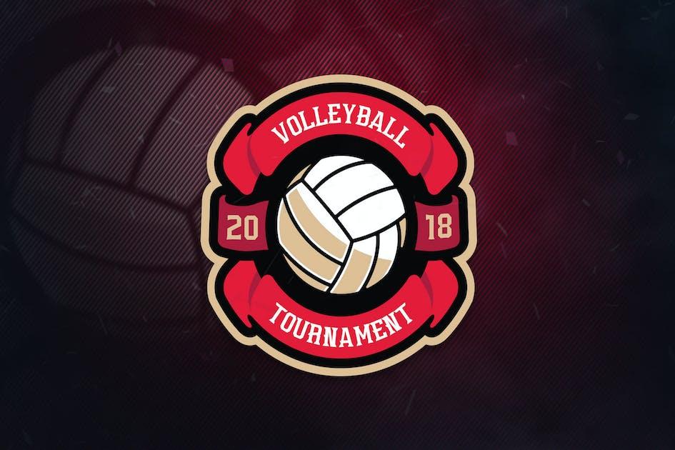 Download Volley Ball Sports Logo by ovozdigital