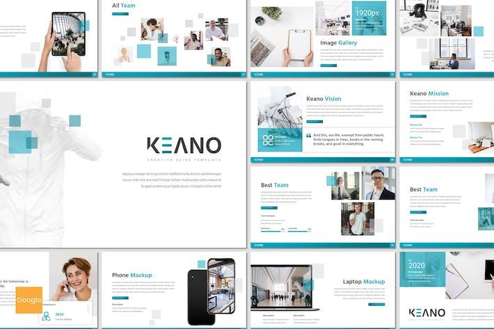 Thumbnail for Keano - Business Google Slides Template
