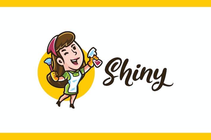 Thumbnail for Shiny - Service de ménage et Logo d'entretien ménager