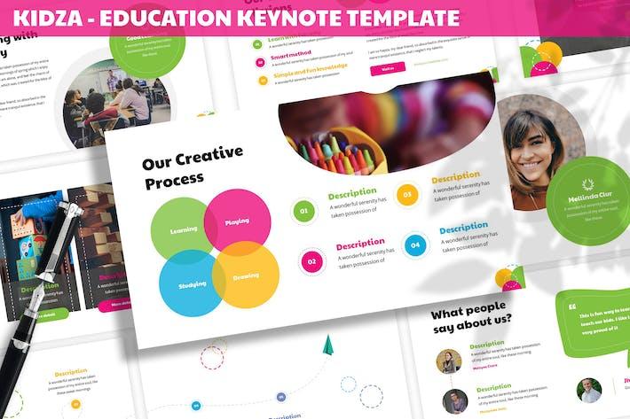 Thumbnail for Kidza - Education Keynote Template
