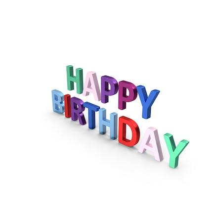 Happy Birthday Symbol Bunt