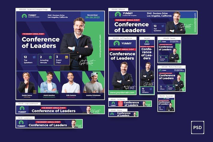 Event Conference Banners Ad
