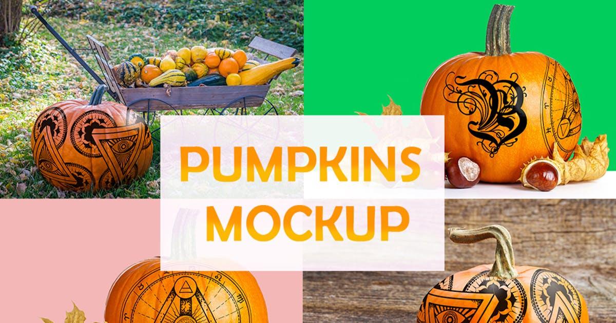 Download Pumpkins mockups by a_slowik