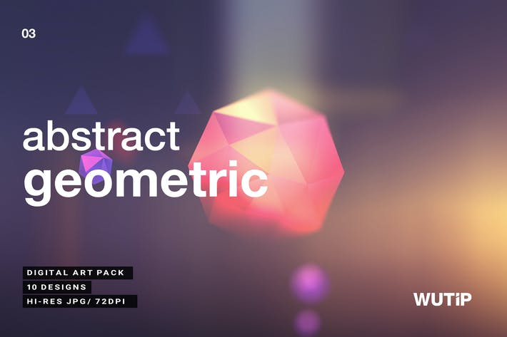 Thumbnail for Abstract Geometric Backgrounds V3