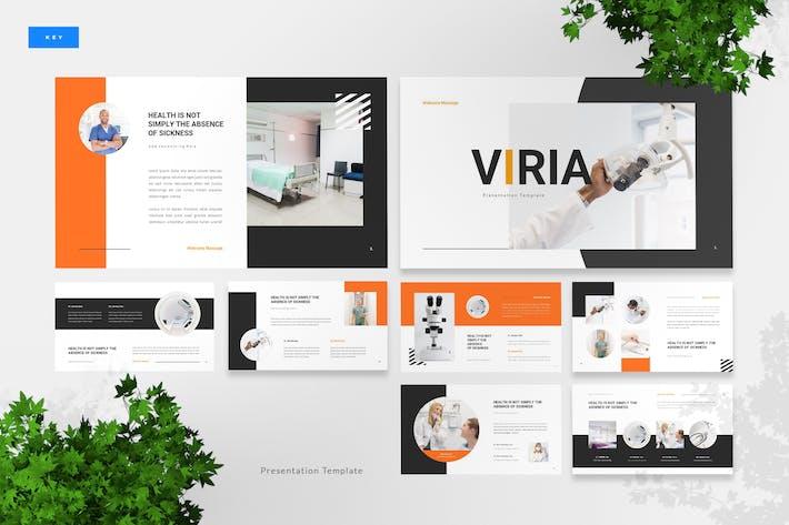 Thumbnail for Viria - Medical Keynote Presentation Template