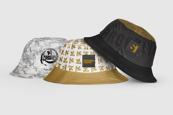 Thumbnail for Bucket Hat Mockup
