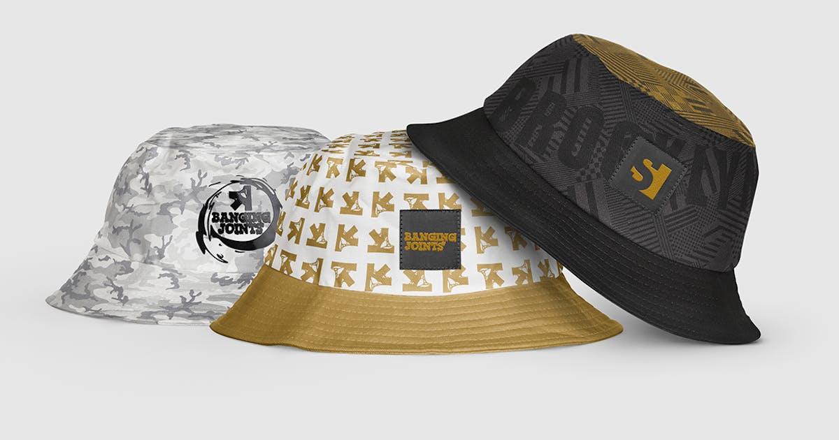 Download Bucket Hat Mockup by bangingjoints