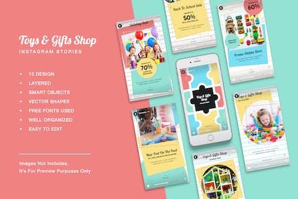 Toys & Gift Shop Instagram Stories