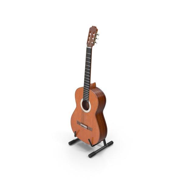 Thumbnail for Акустическая гитара и подставка