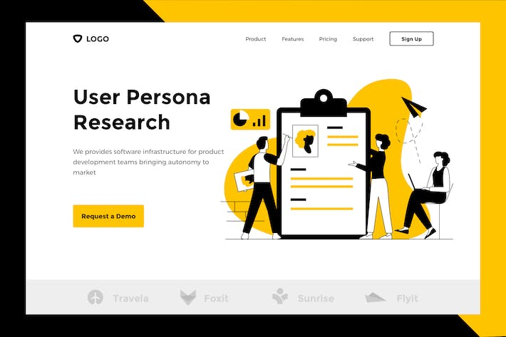 Thumbnail for User Persona - Web & Mobile Banner Landing Page