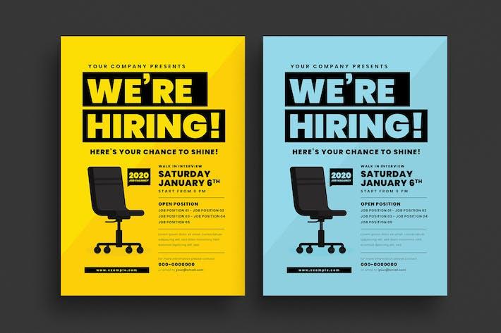 Thumbnail for Job Vacancy Event Flyer