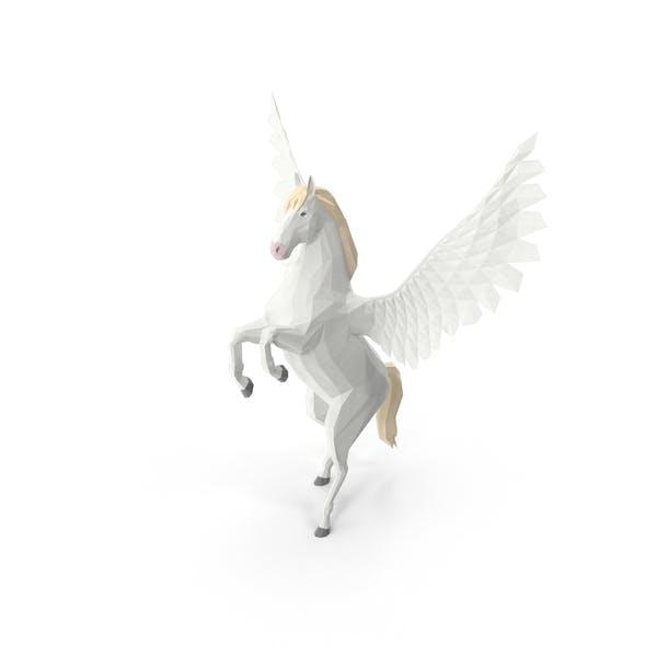 Thumbnail for Low Poly Pegasus